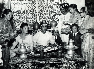 Coronation of the Sultan of Sulu